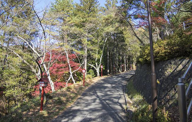 新倉山浅間公園へのアクセス