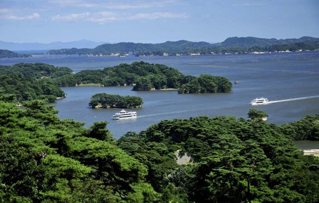 宮城県を代表する観光スポットの松島【松島湾観光遊覧船】