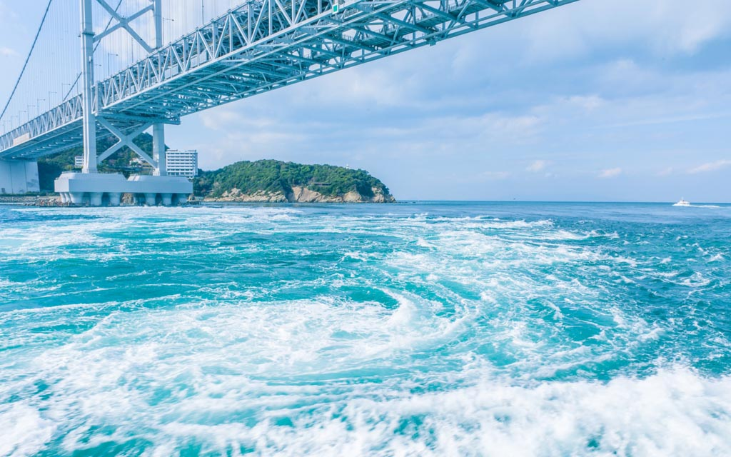 『世界三大潮流』で徳島県を代表する大鳴門橋遊歩道【渦の道】